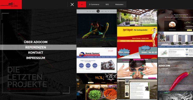 adocom Portfolio Webdesign