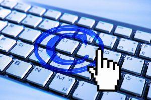 Als Zeichen des Urheberrechts oft verwendet, das Copyrigth-Symbol