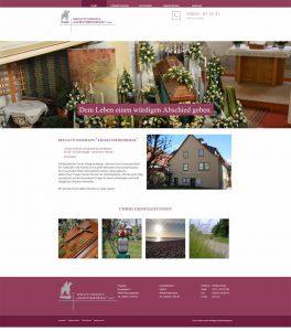 neue Webseite vom Bestattungshaus am Reiterdenkmal